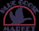 A logo of Blue Goose